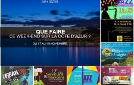 Que faire sur la Côte d'Azur ce week-end ? du 17 au 19 novembre 2017