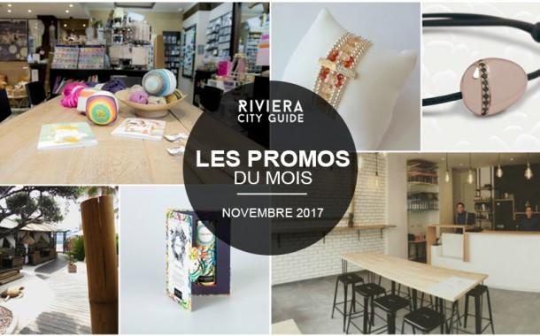 Les Bons Plans du mois de Novembre sur la Côte d'Azur