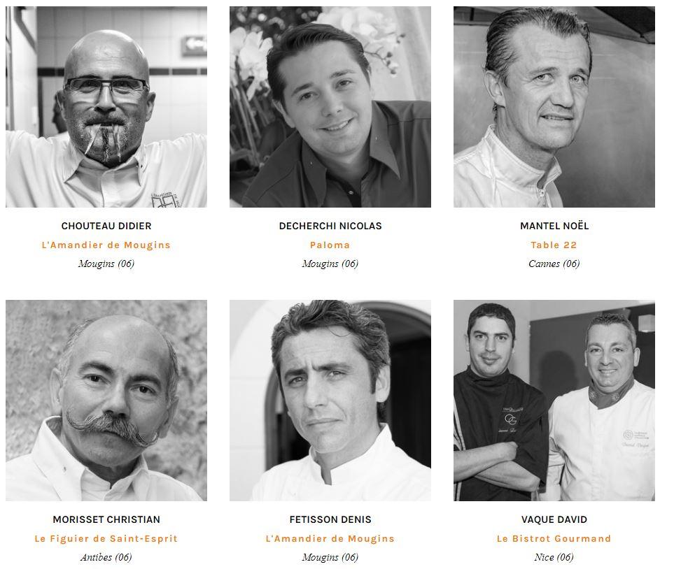 chefs diner de chef mougins 2017