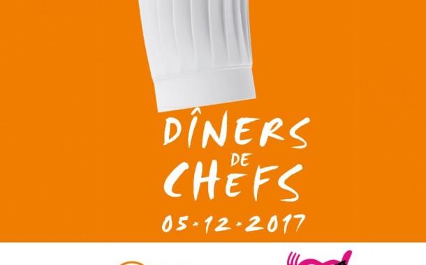 Dîners de Chefs 2017 : des dîners au profit des Restaurants du Cœur !