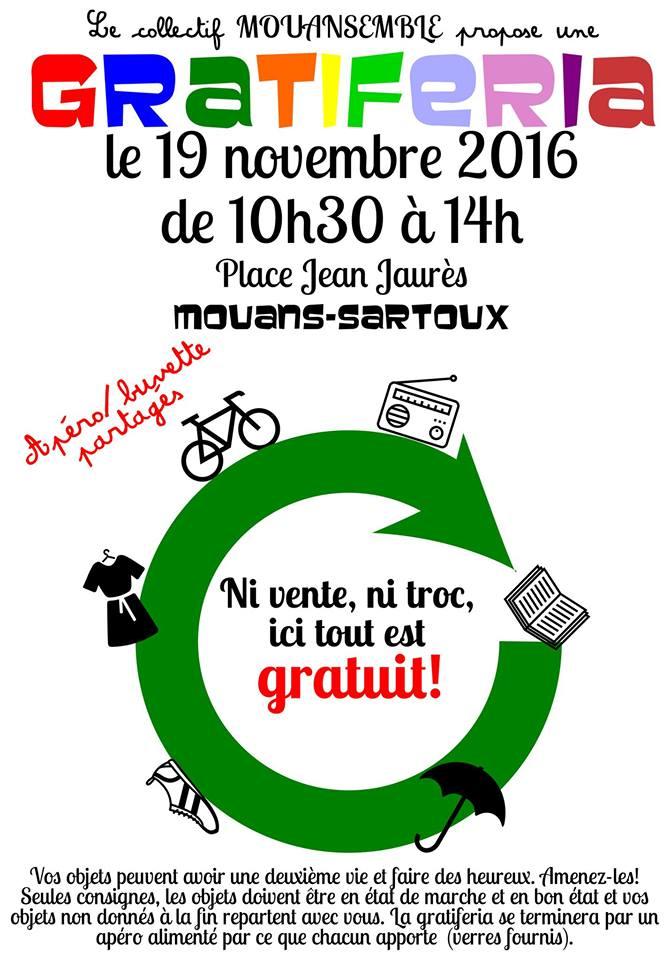 marche gratuit Mouans Sartoux
