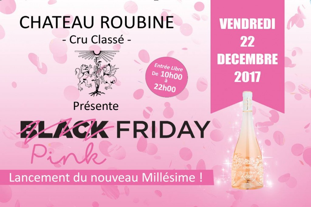 pink friday chateau roubine