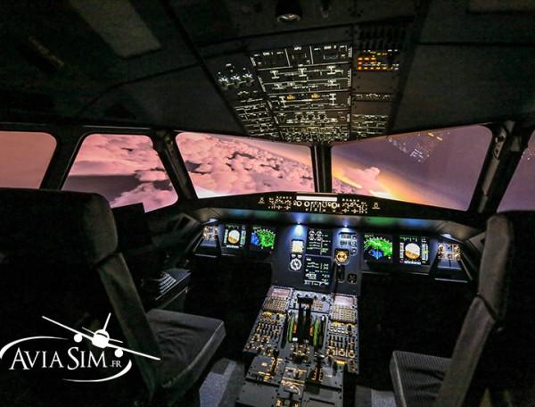 simulateur de vol noel