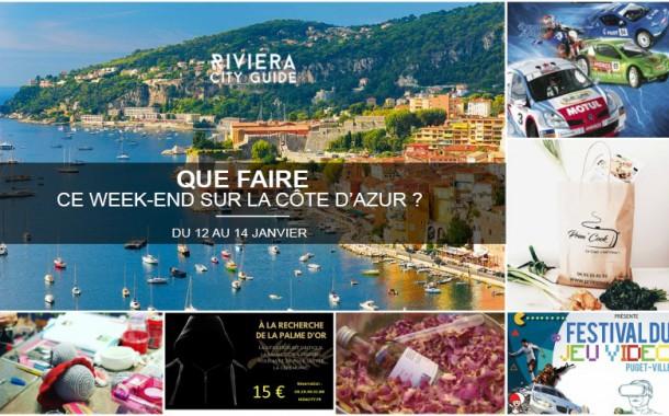 Que faire sur la Côte d'Azur ce week-end ? Du 12 au 14 janvier 2018