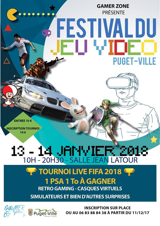 festival jeu video puget