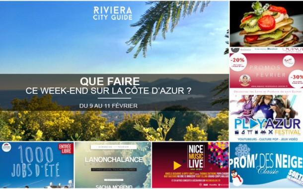 Que faire sur la Côte d'Azur ce week-end ? Du 9 au 11 février