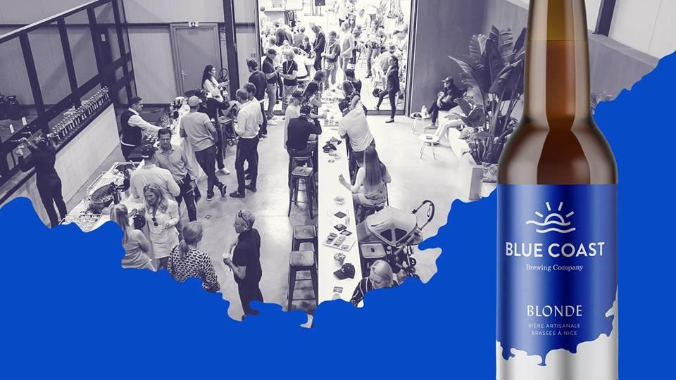 blue coast nice bière