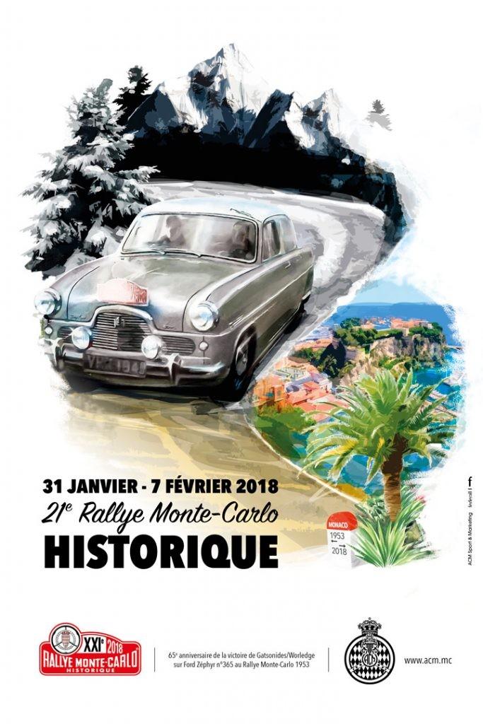 rallye historique monaco 2018