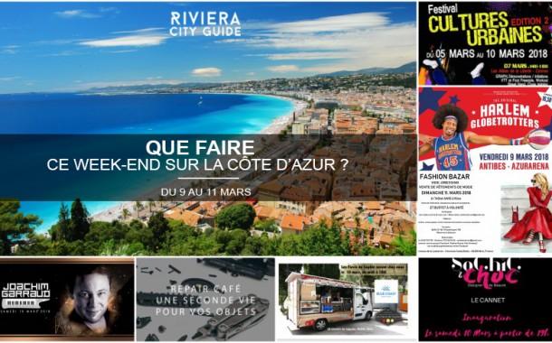 Que faire sur la Côte d'Azur ce week-end ? Du 9 au 11 Mars 2018