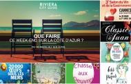 Que faire sur la Côte d'Azur ce week-end ? Du 30 mars au 1er Avril 2018