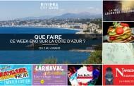 Que faire sur la Côte d'Azur ce week-end ? Du 2 au 4 Mars 2018