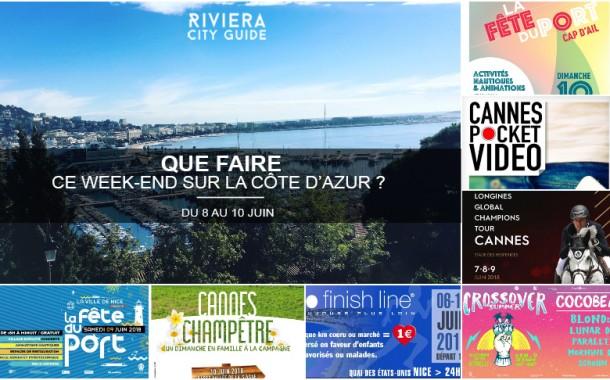 Que faire sur la Côte d'Azur ce week-end ? Du 8 au 10 juin 2018