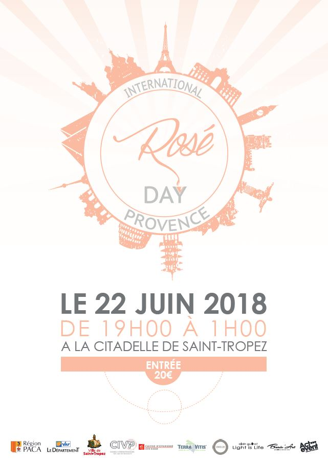 rosé day saint tropez 2018