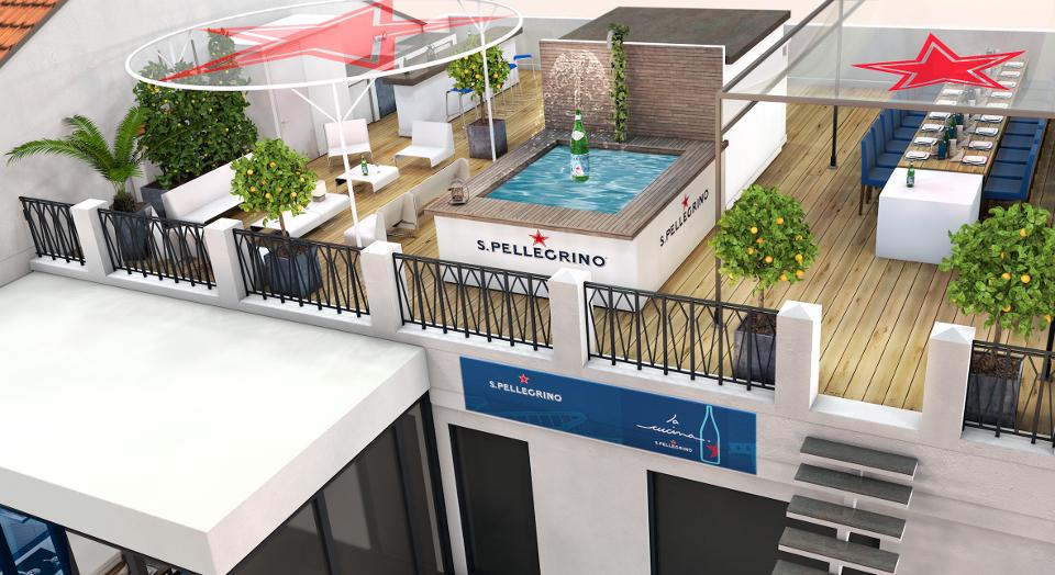 La Cucina S.Pellegrino Rooftop Cannes 2015