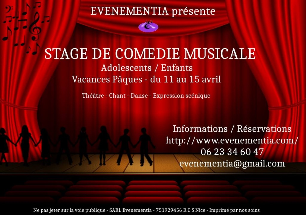 comedie musicale stage