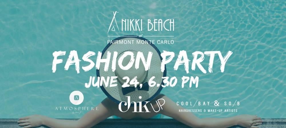 fashion party nikki beach
