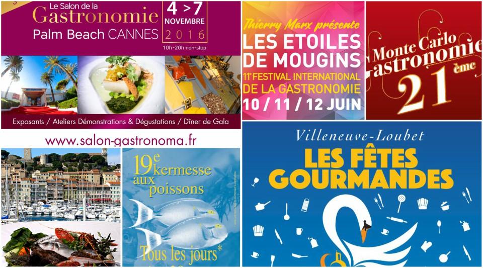 Festivals Gastronomie