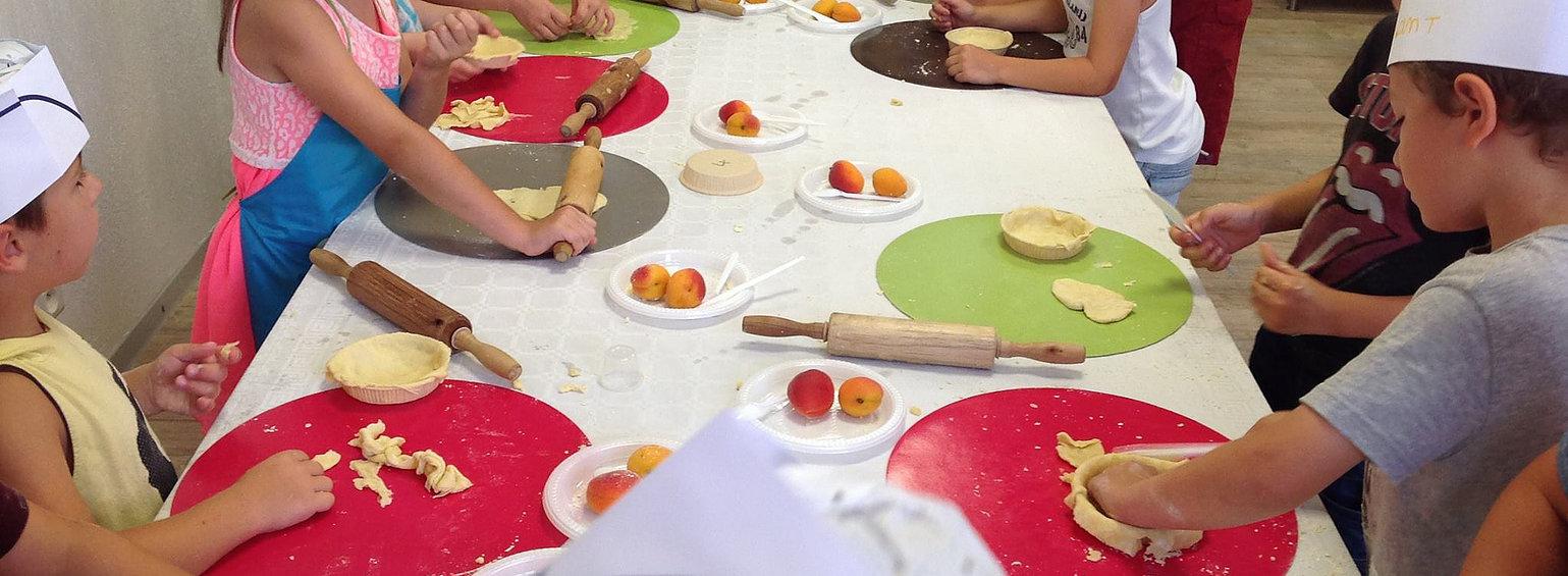 ateliers cuisine enfant grasse
