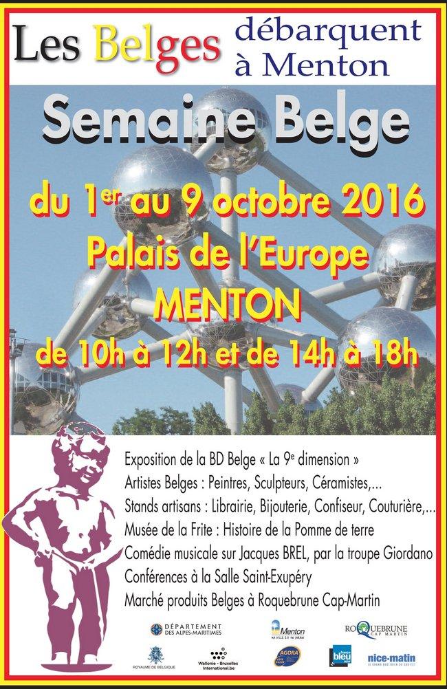 semaine belge mentin
