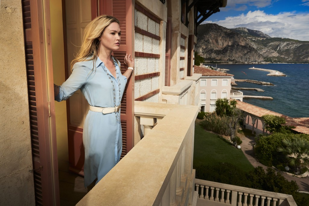 Julia Stiles in Riviera Photographed by John Wright