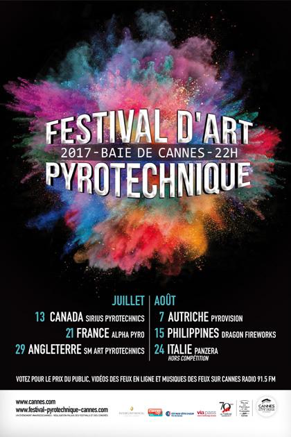 festival pyrotechnique cannes