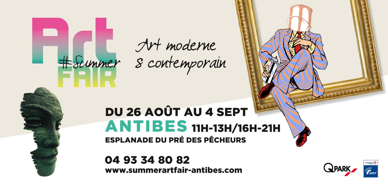 summer art fair antibes