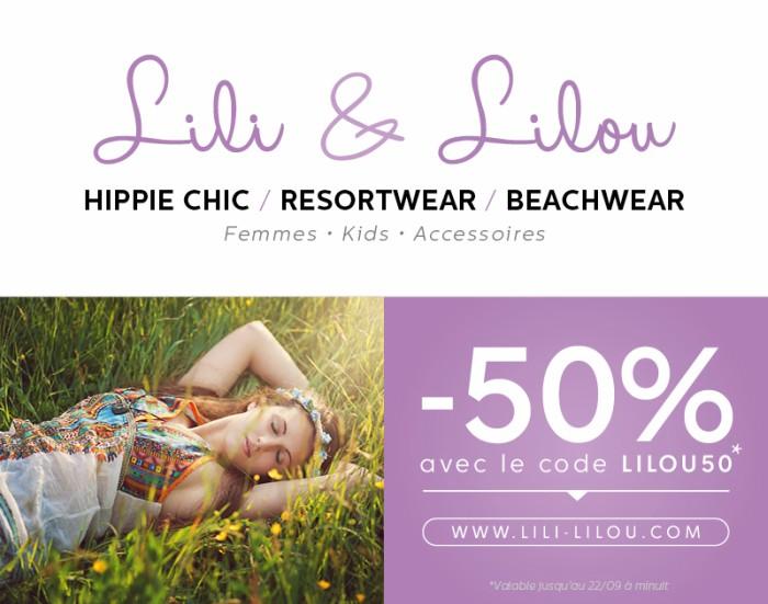 Lili lilou robe