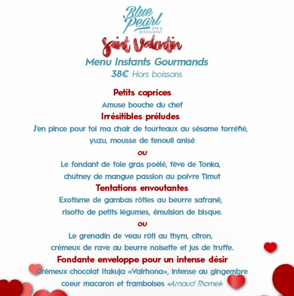 Blue Pearl saint valentin