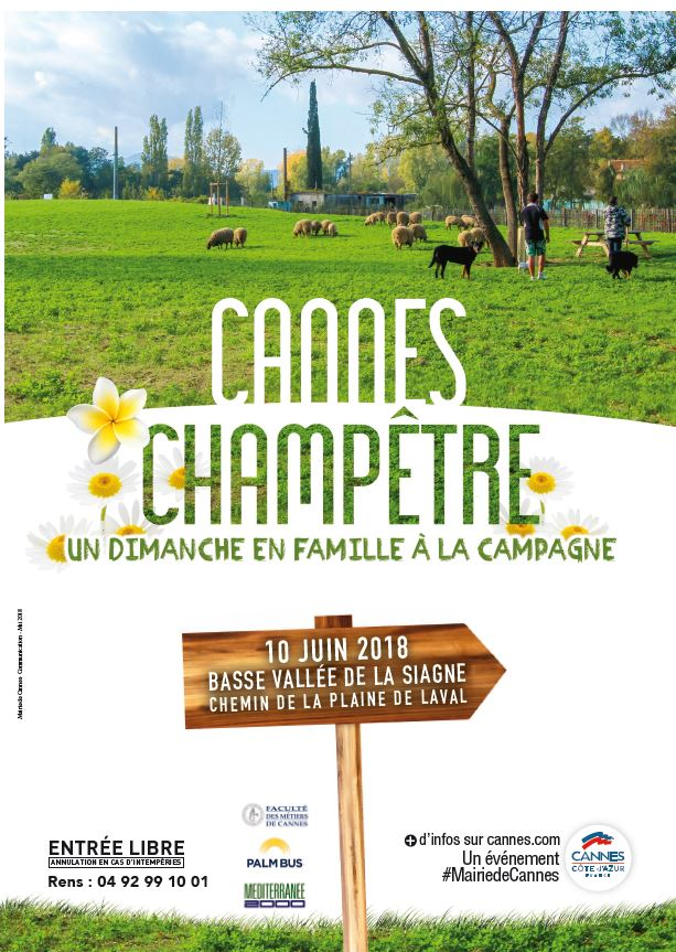 cannes champetre