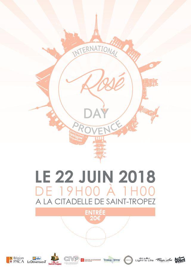 rosé day saint tropez 2018