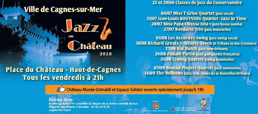 jazz au chateau 2018
