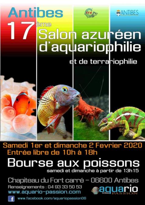salon aquariophilie