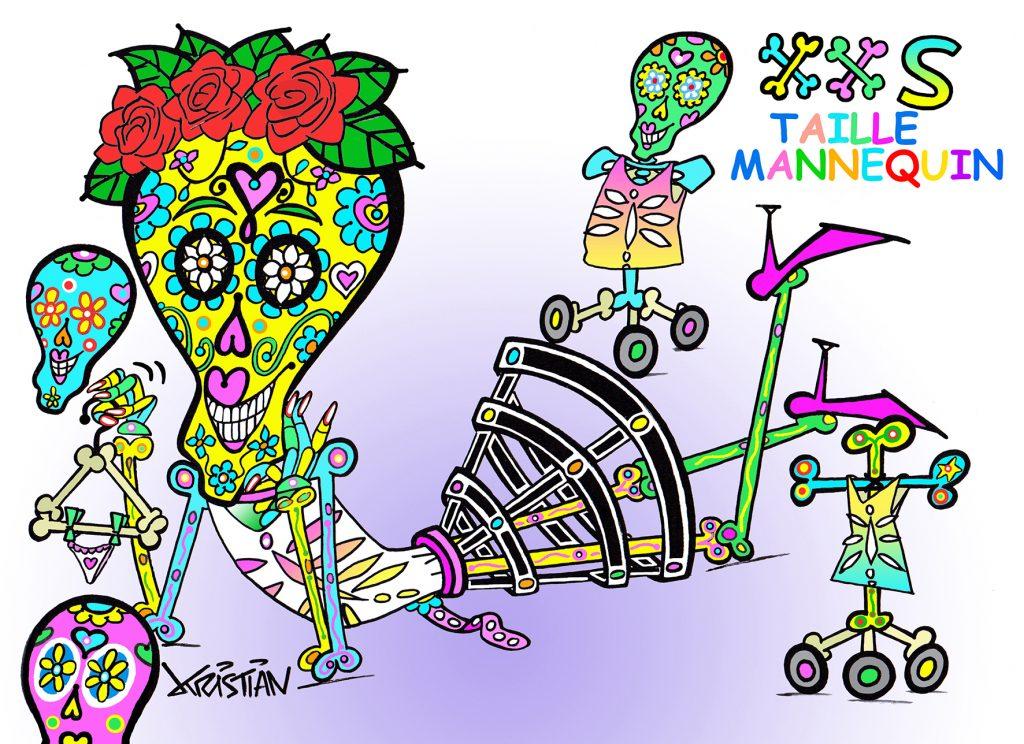 Carnaval de Nice 2020 - XXS Taille Mannequin