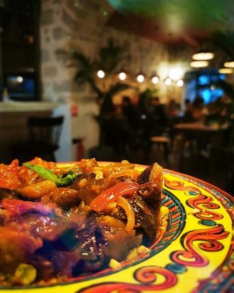 caponata ; plats ; tradition ; italie ; ratatouille ; aubergine ; plat du soleil ; nice