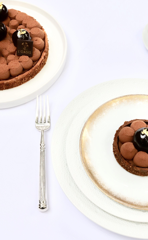 Tartelette aux deux chocolats mise en scène 1 - 2 OCTOBRE 2020