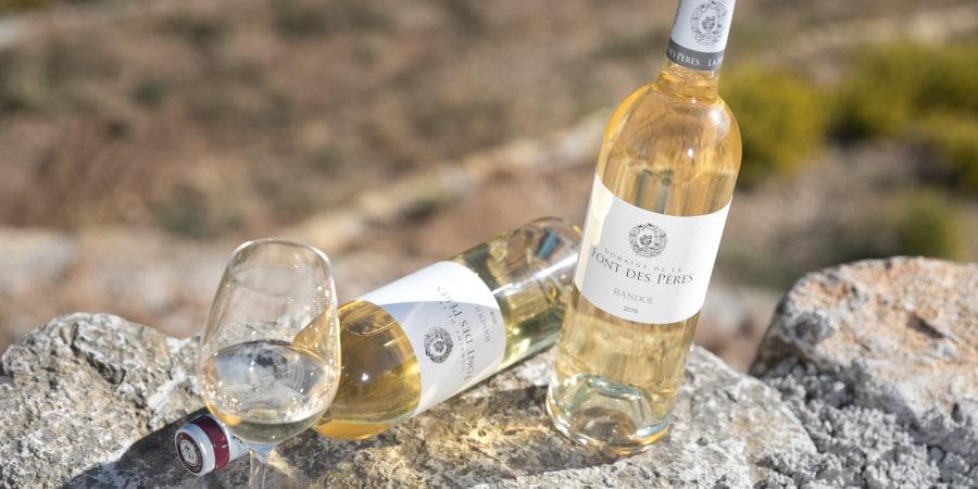 Bandol Blanc 2016 route des vins